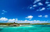 Caribbean sea — Stock Photo