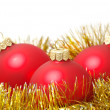 Christmas balls — Stock Photo
