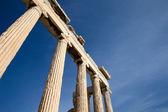 アテネのアクロポリスにパルテノン神殿 — ストック写真