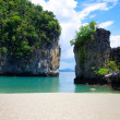 Rocks and sea in Krabi — Stock Photo #36729911