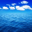 Foto Stock: Blue sea