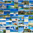 Stock Photo: Sea collage