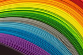 Strips in rainbow colors — Stock Photo