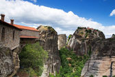 Monastery on top of rock in Meteora — Stock Photo