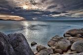 海に沈む夕日 — ストック写真
