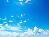 Blue sky clouds — Stock Photo