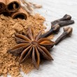 anise and cinnamon  — Stock Photo #43782575