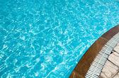pool in hotel — Stockfoto