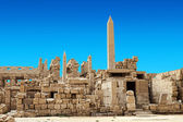 Obelisk of Queen Hapshetsut in Karnak, Egypt — Stock Photo
