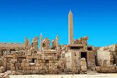 Obelisk of Queen Hapshetsut in Karnak, Egypt — Stock Photo