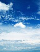 Mavi gök — Stok fotoğraf