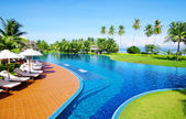Pool in thailand — Stock Photo