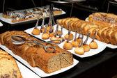 Hnědý dort — Stock fotografie