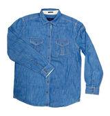 Jeans hemd — Stockfoto