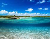 Carribean sea — Stock Photo