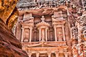 Al Khazneh in Petra — Foto de Stock