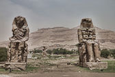 Statues in Luxor, Egypt — Stock Photo