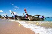 Boats at tropical Sea — Stock Photo