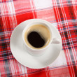 Coffee on a breakfast table — Stock Photo