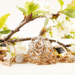 Stock Photo: gold jewelry