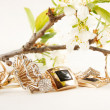 Gold Jewelry — Foto Stock