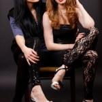 deux amis de fille séduisantes — Photo #18044551