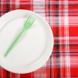 Disposable tableware — Stock Photo