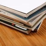 Pile of magazines — Stock Photo #18046263