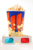 Cup of popcorn — Stock Photo