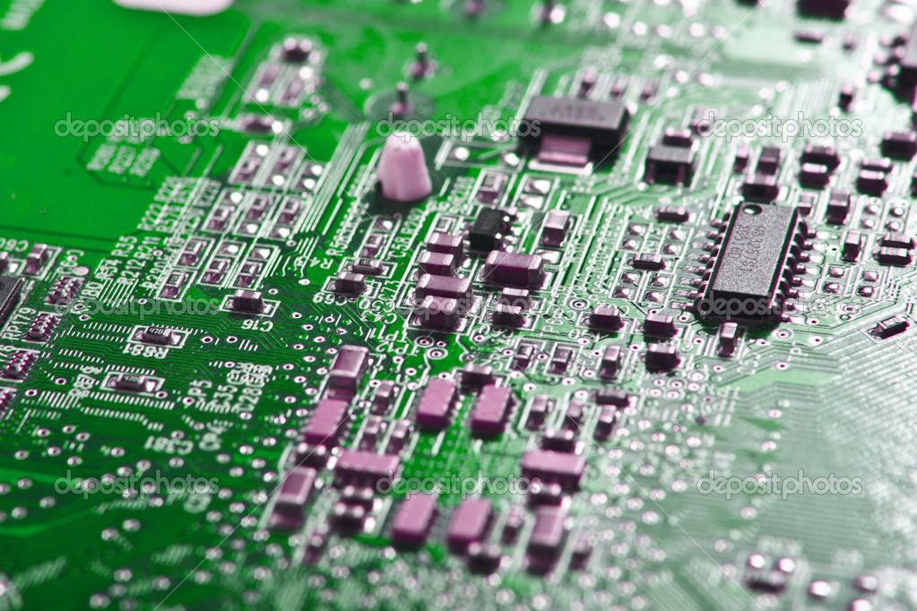 Микросхемы на компьютере