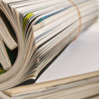 Rolled magazine — Stock Photo #20754403