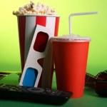 Full bucket of popcorn — Stock Photo #20754663