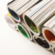 Rolled magazine — Stock Photo #24426029