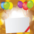 Happy birthday card — Stock Vector #30026173