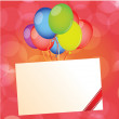 Happy birthday card — Stock Vector #30026231