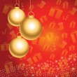 Christmas background — Image vectorielle