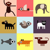 Animals and Pets — Stock Vector