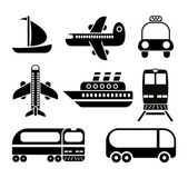 Pictogram transportset — Stockvector
