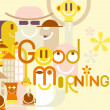 Good Morning! — Stock Vector