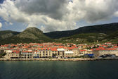 Vista al mar ciudad Bol — Foto de Stock