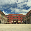Stock Photo: Republic Square Split