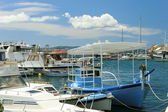 Boats at Bol harbor — Stock Photo