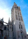 Sevilla Cityscape, Andalusia, Spain. View of La Giralda- — Stock Photo
