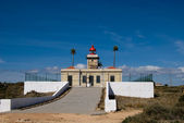 The lighthouse in Algarve, Portugal — Stock Photo