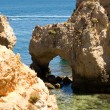 Rock formations near Lagos, Portugal — Stock Photo #29398679