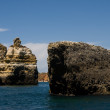 Rock formations near Lagos, Portugal — Stock Photo #29398971