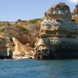 Rock formations near Lagos, Portugal — Stock Photo #29399821