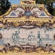 Portuguese ceramic tile painting from the C18th. — Stock Photo #31981665