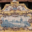 Portuguese ceramic tile painting from the C18th. — Stock Photo #31982767
