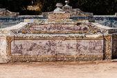 Portugalski płytki ceramiczne obraz z c18th. — Zdjęcie stockowe